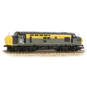 Graham Farish 371-466A Class 37/0 Split Headcode 37046 BR Engineers Grey and Yellow