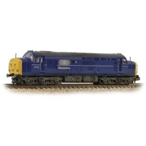 Graham Farish 371-472 Class 37/0 Centre Headcode 37242 Mainline Freight Weathered