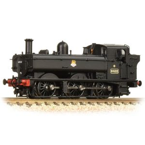 Graham Farish 371-986A Class 64xx Pannier Tank 6422 BR Black Early Crest