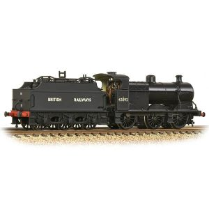 Graham Farish 372-064 Midland Class 4F with Fowler Tender 43892 BR Black British Railways