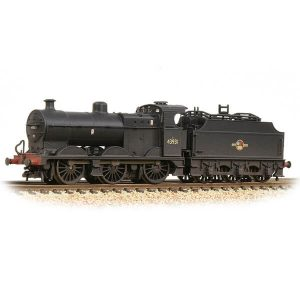 Graham Farish 372-065 Midland Class 4F with Fowler Tender 43931 BR Black Late Crest Weathered