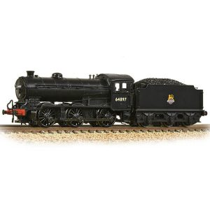 Graham Farish 372-401A Class J39 with Group Standard 4200 Gallon Tender 64897 BR Black Early Crest