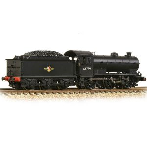 Graham Farish 372-403A Class J39 with Stepped Tender 64739 BR Black Late Crest