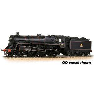 Graham Farish 372-727A BR Class 5MT with BR1B Tender 73109 BR Lined Black Early Crest