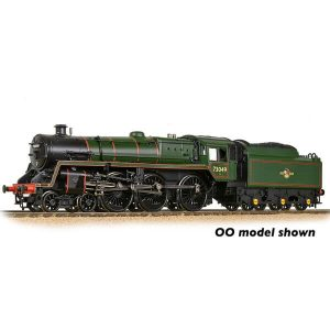 Graham Farish 372-728SF BR Class 5MT with BR1B Tender 73049 BR Lined Green Late Crest DCC Sound Fitted