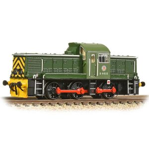 Graham Farish 372-950ASF Class 14 D9522 BR Green with Wasp Stripes DCC Sound Fitted