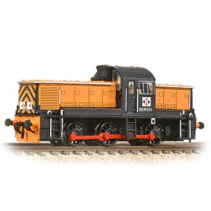 Graham Farish 372-954 Class 14 D2/9531 NCB British Oak Orange and Black