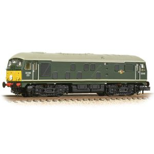 Graham Farish 372-981 Class 24 D5100 BR Green with Small Yellow Panel