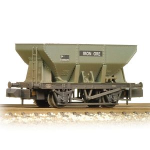 Graham Farish 373-218A 24T Ore Hopper Wagon BR Grey Early Weathered