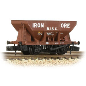 Graham Farish 373-219 24T Ore Hopper Wagon B.I.S.C. Iron Ore Red
