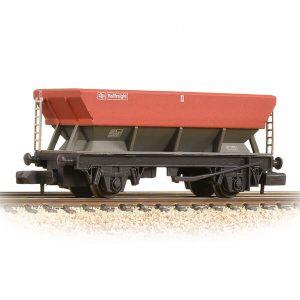 Graham Farish 373-507B 46T HEA Hopper Wagon BR Railfreight Red & Grey Weathered