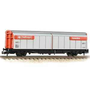Graham Farish 373-601D VGA Sliding Wall Van BR Railfreight Red