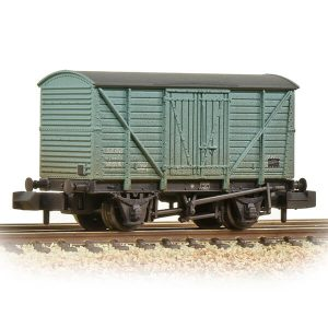 Graham Farish 373-727B 10T BR Insulated Van BR Blue Weathered