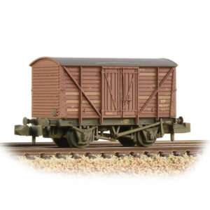 Graham Farish 373-728 10T Ale Wagon BR Bauxite Early Weathered
