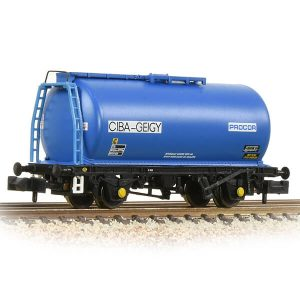 Graham Farish 373-782 45T TTA Tank Wagon Ciba Geigy Blue