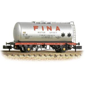 Graham Farish 373-784 45T TTA Tank Wagon Fina Silver