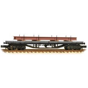 Graham Farish 373-926D 30T Bogie Bolster Wagon BR Grey Early with Load
