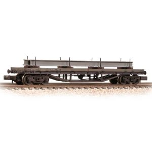 Graham Farish 373-930 30T Bogie Bolster Wagon BR Bauxite Late Weathered