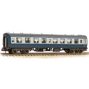 Graham Farish 374-013D BR Mk1 TSO Tourist Second Open BR Blue and Grey Weathered