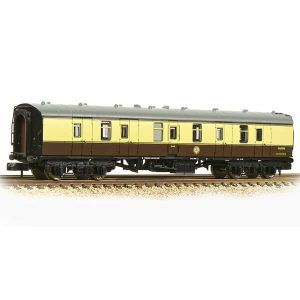 Graham Farish 374-038A BR Mk1 BG Full Brake BR Chocolate and Cream