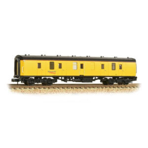 Graham Farish 374-040A BR Mk1 BG Generator Van Network Rail Yellow