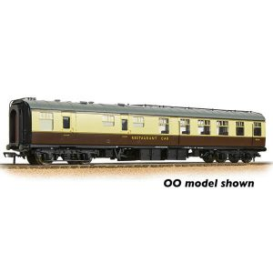Graham Farish 374-123 BR Mk1 RU Restaurant Car BR Chocolate and Cream