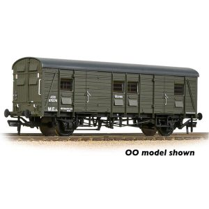 Graham Farish 374-419 SR CCT Covered Carriage Truck BR Departmental Olive
