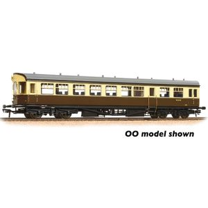 Graham Farish 374-614 BR Auto Trailer BR Chocolate and Cream
