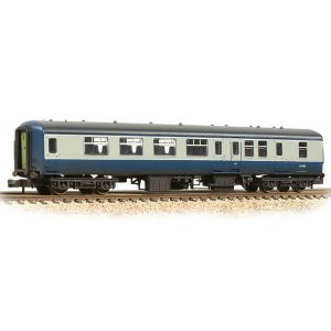 Graham Farish 374-680B BR Mk2A BSO Brake Second Open BR Blue and Grey Weathered