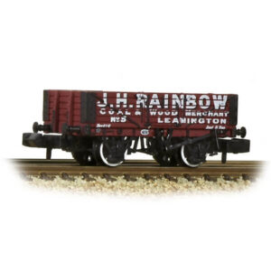 Graham Farish 377-066 5 Plank Wagon Wooden Floor J H Rainbow Red