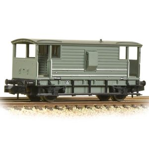 Graham Farish 377-301D LMS 20T Brake Van BR Grey Early