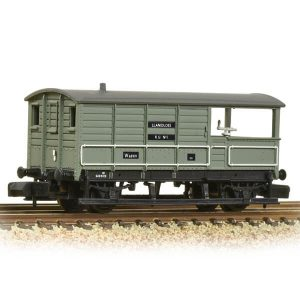 Graham Farish 377-376B 20T Toad Brake Van BR Grey Early