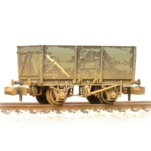 Graham Farish 377-453 16T Steel Slope-Sided Mineral Wagon BR Grey Early Weathered