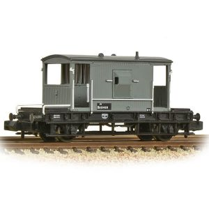 Graham Farish 377-526D 20T BR Brake Van BR Grey Early