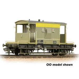 Graham Farish 377-529A 20T BR Brake Van BR Civil Engineers 'Dutch' Livery Weathered
