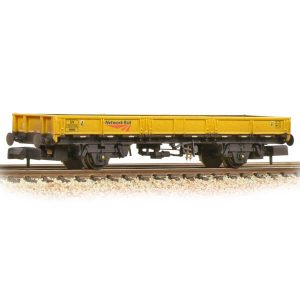 Graham Farish 377-731A SPA Wagon Network Rail Yellow Weathered