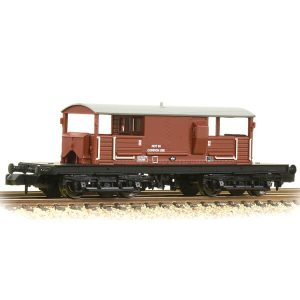 Graham Farish 377-876A Queen Mary Brake Van BR Bauxite Late