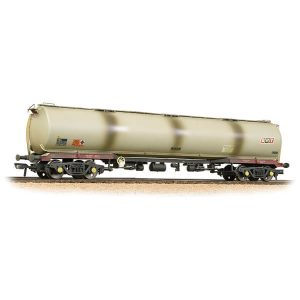 Bachmann 38-118 TEA 100T Bogie Tank Wagon Shell (Railfreight Petroleum Sector) Grey