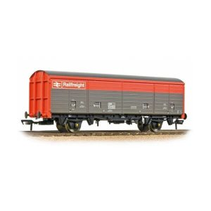 Bachmann 38-144A VDA Sliding Door Box Van BR Railfreight Red and Grey