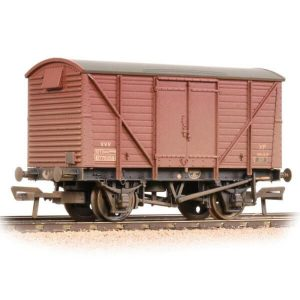 Bachmann 38-232 BR 12T Ventilated Van BR Bauxite TOPS Weathered