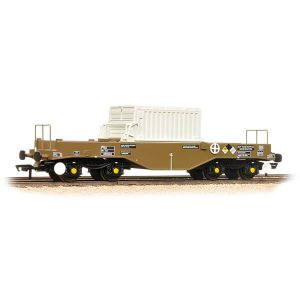 Bachmann 38-347B FNA Nuclear Flask Wagon with Sloping Floor with Flask