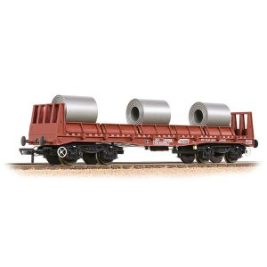 Bachmann 38-354 BAA Steel Carrier Wagon with Steel Coils BR Bauxite TOPS