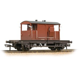 Bachmann 38-402B 25T Pill Box Brake Van BR Bauxite Early Weathered