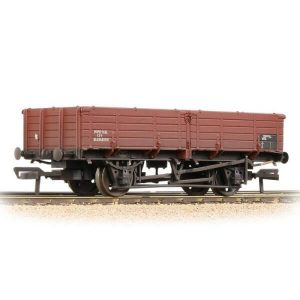 Bachmann 38-701A 12T Pipe Wagon BR Bauxite Late Weathered