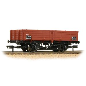 Bachmann 38-703 12T Pipe Wagon BR Bauxite TOPS
