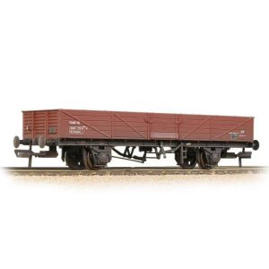 Bachmann 38-752A 22T Tube Wagon BR Bauxite Late Weathered