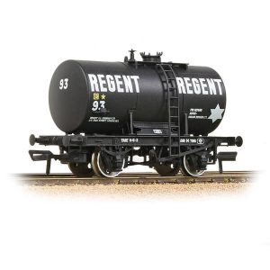 Bachmann 38-780 14T Class B Anchor-Mounted Tank Wagon Regent Oil Black