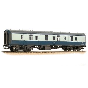 Bachmann 39-175F BR Mk1 BG Full Brake BR Blue and Grey Weathered