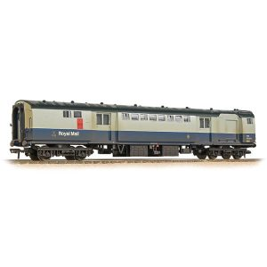 Bachmann 39-425A BR Mk1 POS Post Office Sorting Van BR Blue and Grey Weathered