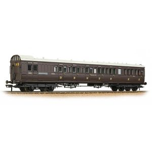 Bachmann 39-604 SECR 60′ Birdcage Brake Composite SE&CR Wellington Brown